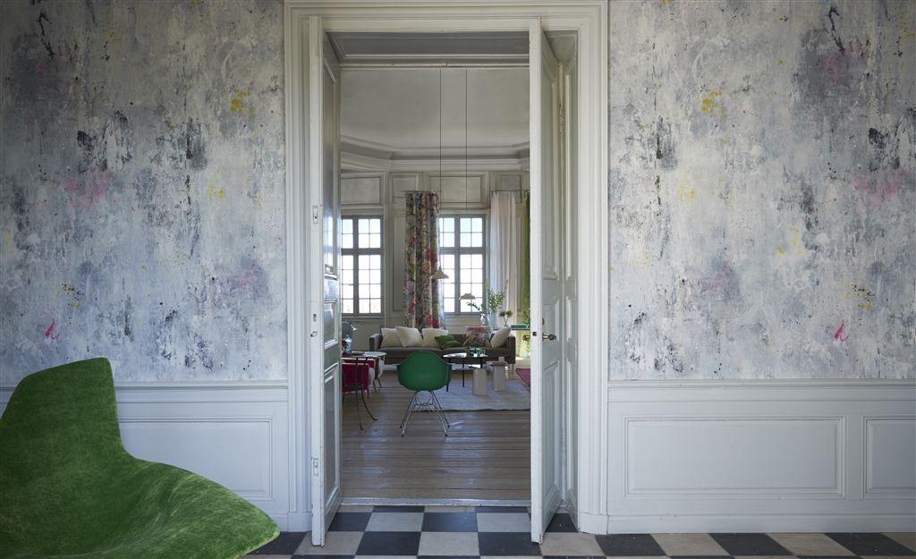 Papel pintado motivos abstracto designers guild jardin des - Designers guild papel pintado ...