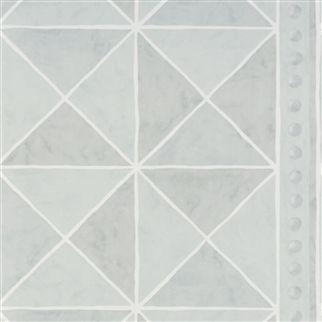 Papel pintado formas mosaicos geom tricas designers guild for Dujardin cestas